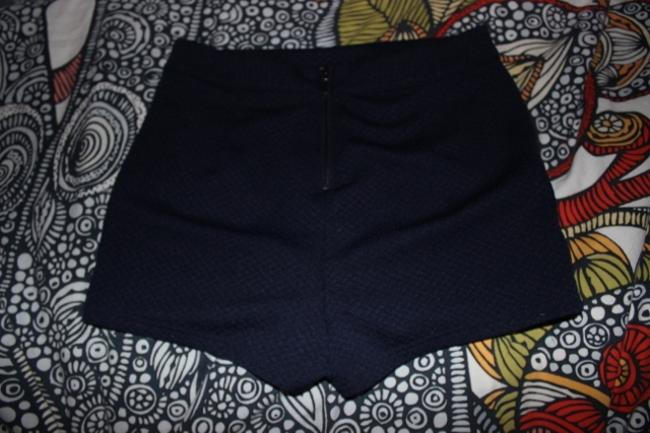 Forever 21 Bohemian Boho High Waisted High-waisted Fall Spring Summer Cut Out Shorts Navy