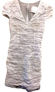 Yigal Azrouel New York White And Silver Dress