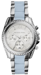 Michael Kors Michael Kors Women's Blair Chambray Acetate and Stainless Steel Bracelet Watch 39mm MK6137