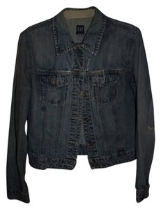 Gap Vintage Demin Fall Retro Denim acid wash Womens Jean Jacket