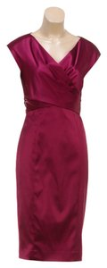 Max Mara short dress Magenta on Tradesy