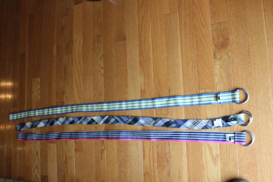 J.Crew 3 J Crew multi color belts 2 nwt 1 with out