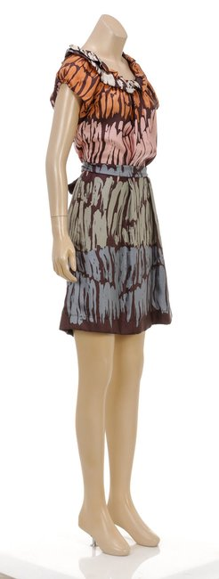 BCBGMAXAZRIA short dress Multicolor on Tradesy
