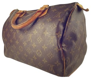 Louis Vuitton Speedy Speedy 30 Handbag Satchel in BROWN