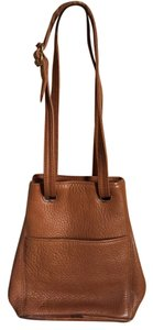 Coach Vintage Leather Satchel in Caramel