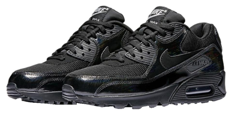 Nike 90 Black/Metallic Silver/Black Air Max 90 Nike Sneakers 73d07d