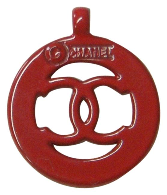 Item - Red Cut-out Logo Pendant Or Small - Charm