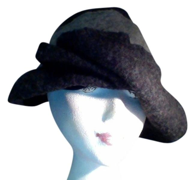 Item - Charcoal Two Tone Hat
