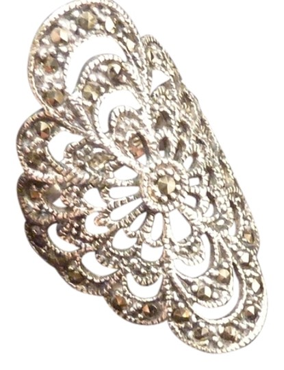 Preload https://item3.tradesy.com/images/silver-marcasite-and-sterling-filigree-shield-7-ring-5446117-0-0.jpg?width=440&height=440
