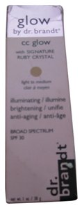 DR.BRANDT DR.BRANDT CC GLOW LIGHT/MEDIUM COLOR WITH SPF 30, 1FL OZ