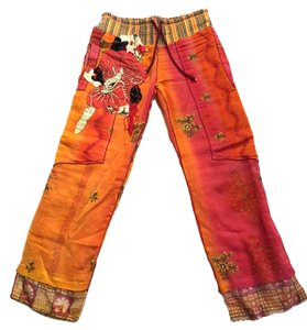 Paul Ropp Straight Pants Orange