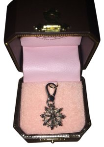 Juicy Couture Juicy Couture Crown with J Insert Silver Charm