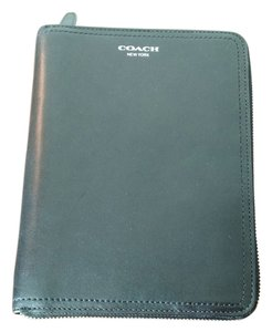 Coach Coach Legacy Leather 6X8 Zip Jacket Planner