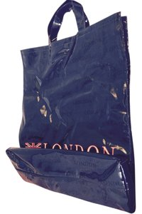 Harrods OF London Strong Stylish Authenic Tote in Navy Blue