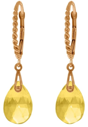 Preload https://item5.tradesy.com/images/rose-gold-6-ct-14k-yellow-citrine-gemstone-drop-earrings-5448199-0-0.jpg?width=440&height=440