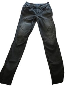 Level 99 Distressed Skinny Jeans-Dark Rinse