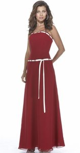 Alexia Designs Claret / White Style 2932 Dress