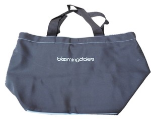 Bloomingdale's Logo Tote in Black