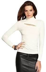 Guess Longsleeve Sleeve Top white / cream