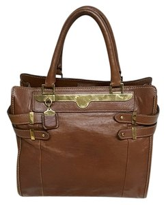 Chloé Tote in Rich calfskin tanned leather