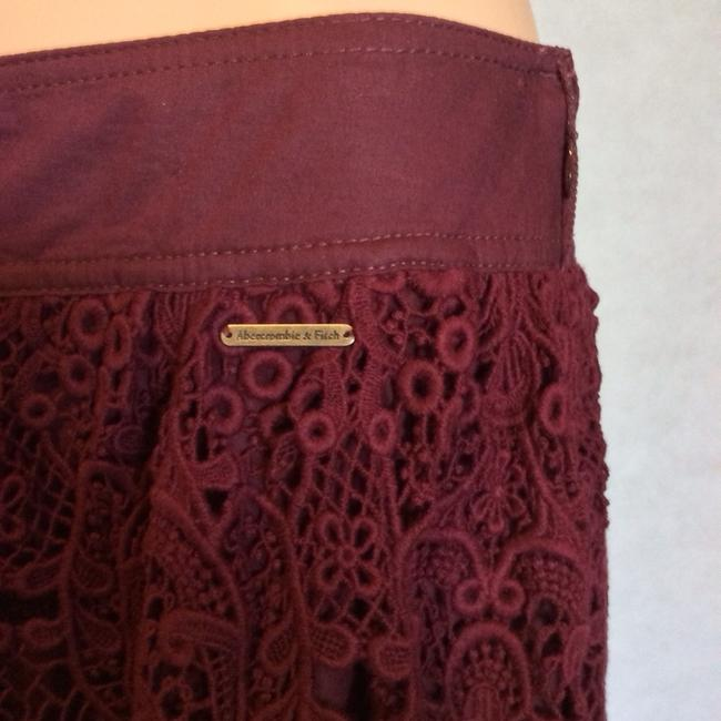 Abercrombie & Fitch Skirt Wine