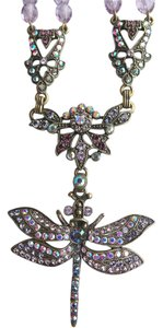 Kirks Folly Kirks Folly Crystal Bead Dragonfly Necklace