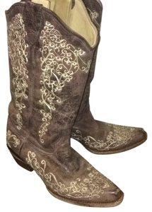 Corral Natural Boots