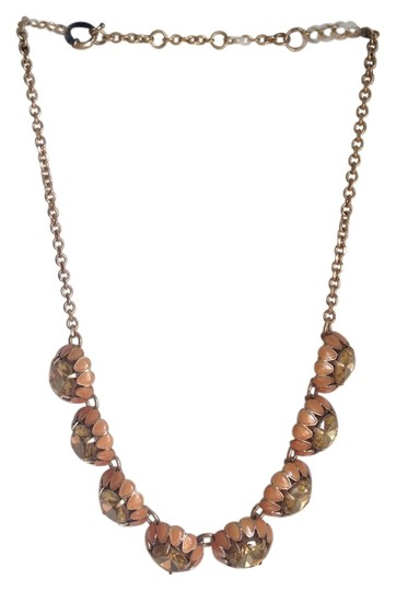 Preload https://item5.tradesy.com/images/jcrew-pink-large-stone-and-enamel-necklace-5450389-0-0.jpg?width=440&height=440