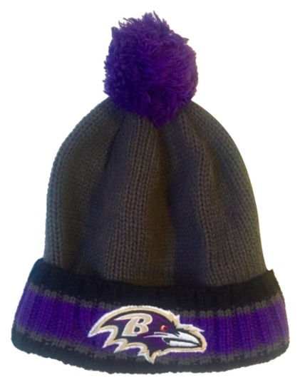 Nike Baltimore Ravens Beanie with Pom Pom