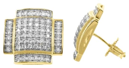 Preload https://item1.tradesy.com/images/gold-convex-style-unique-custom-lab-diamond-finish-silver-stud-gift-earrings-5451265-0-4.jpg?width=440&height=440