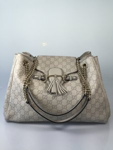 Gucci Satchel in Grayish white