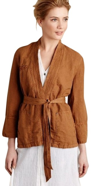 Preload https://item5.tradesy.com/images/anthropologie-honey-brown-linen-wrap-by-hei-hei-spring-jacket-size-4-s-5452204-0-0.jpg?width=400&height=650