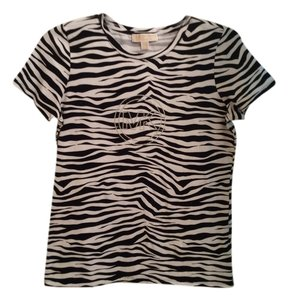 Michael Kors T T Shirt Black and white