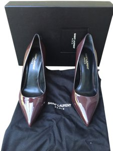 Saint Laurent burgundy Pumps