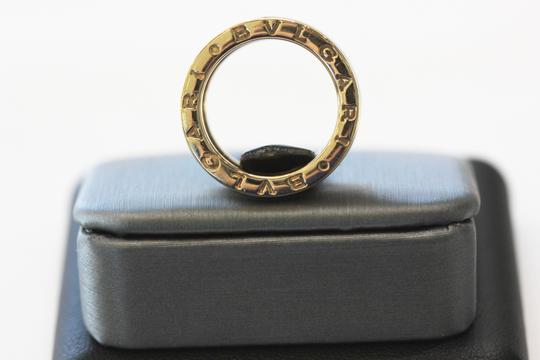 BVLGARI B ZERO 1 18k yellow gold 5 band ring