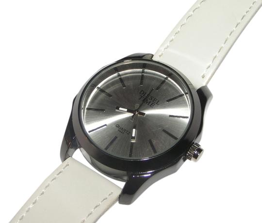 Diesel Time BOGO Diesel Time White & Black Mirrored Easy Read Watch Free Shipping