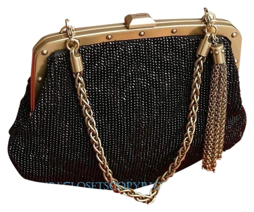 bce359217d7 Gucci New with Tags Tom Ford Era Handbag Beaded Baguette - Tradesy