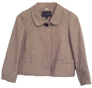 Banana Republic Houndstooth Brown Jacket