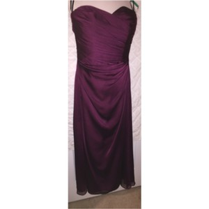 Jim Hjelm Occasions Aubergine: Plum Dress