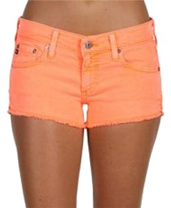 AG Adriano Goldschmied Cutoff Mini/Short Shorts Orange