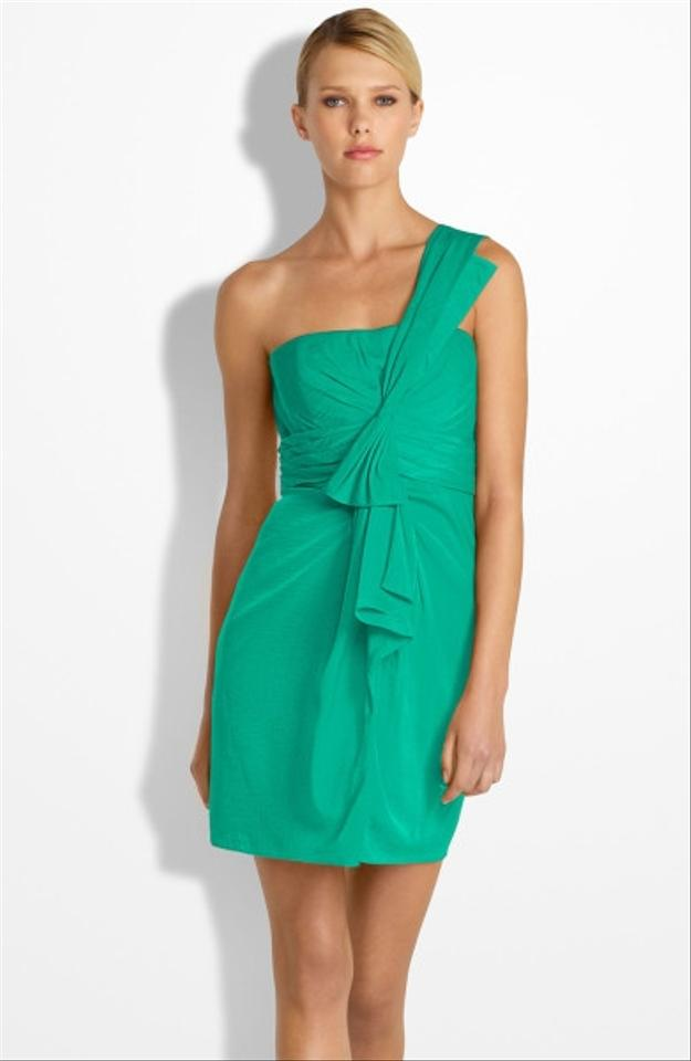 Bcbg Max Azria Cocktail Dress Green Above Knee 61 Off