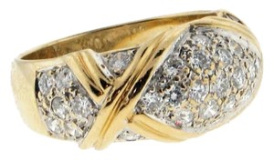 WHOLESALE - Steal 14k yellow gold & 1 carat diamond (very blingy) ring/band