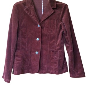 Relativity Burgundy; Deep Red Blazer