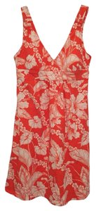 Tommy Bahama short dress Orange on Tradesy