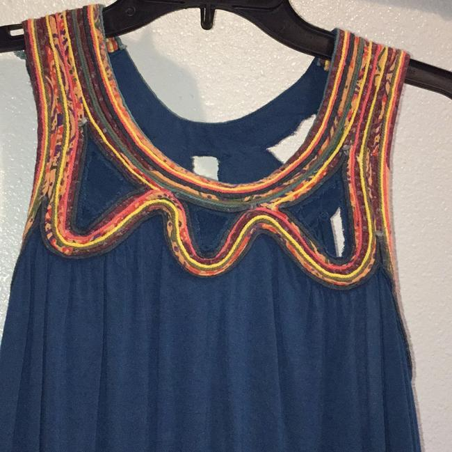 Anthropologie Top Turquoise