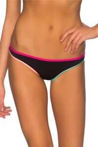 B. Swim L9 Punchy Nova Cheeky (Double Knit Fabric) Colorblock Bikini Bottom