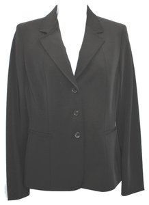 Tahari Stretch Black Blazer