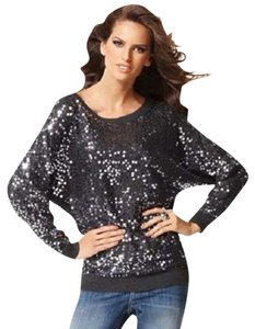 INC International Concepts Sequin Metallic Sparkle Sweater