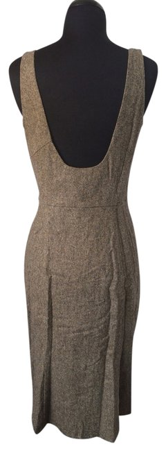 Diane von Furstenberg short dress Camel on Tradesy