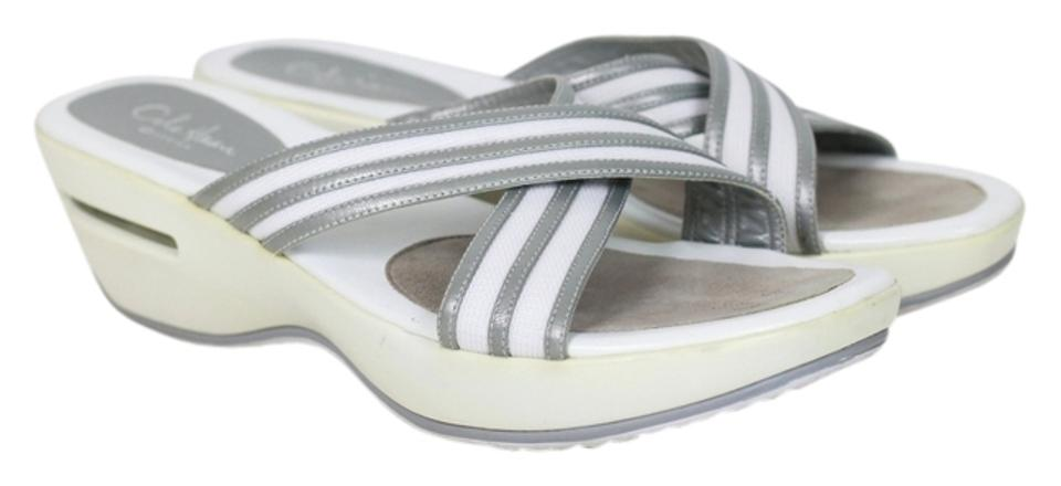 1ddf33740 Cole Haan White   Gray Nike Air G Series Sandals. Size  US 8.5 Regular ...